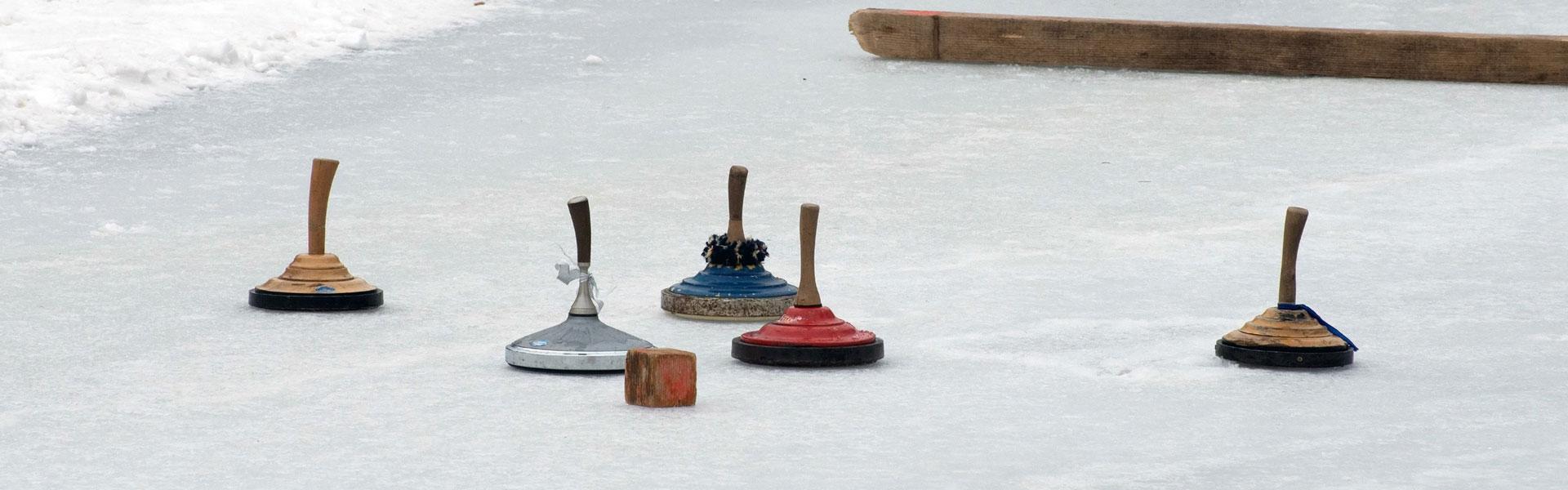 Eisstockschießen in Waldkirchen