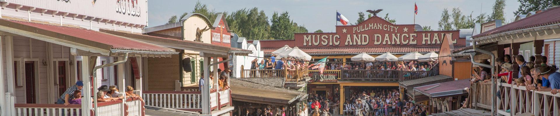 Pullman City – die lebende Westernstadt
